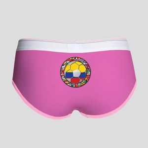 Colombia Flag World Cup No La Women's Boy Brief